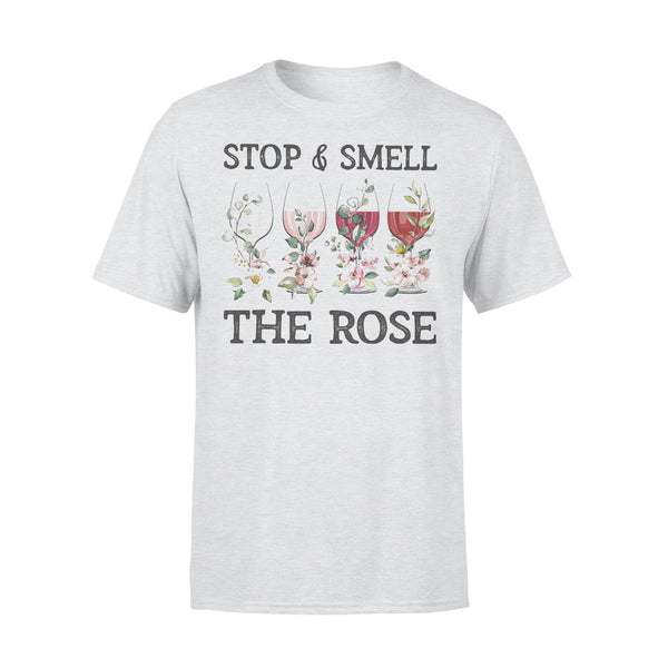 Wine Stop And Smell The Rose T-shirt XL By AllezyShirt