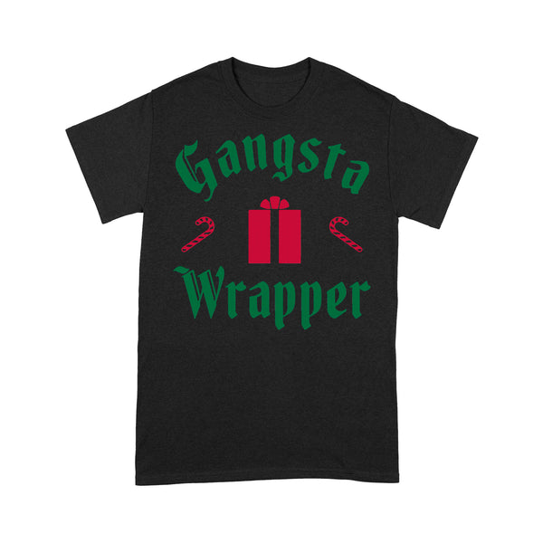 Gangsta Wrapper Christmas T-shirt S By AllezyShirt