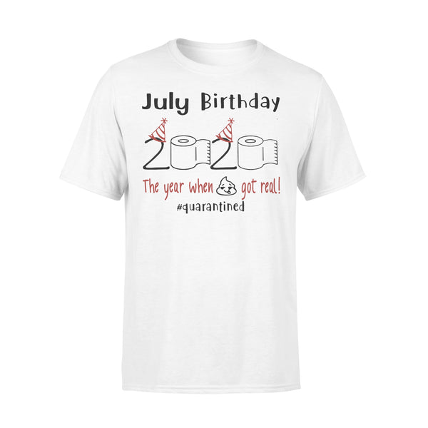 July Birthday 2020 Quarantined Shirt L By AllezyShirt