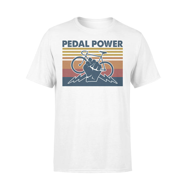 Bicycle Pedal Power Vintage Retro T-shirt L By AllezyShirt