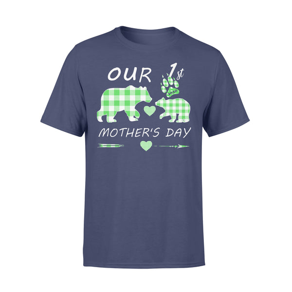 Mother Bear Our 1St Mother's Day T-shirt XL By AllezyShirt