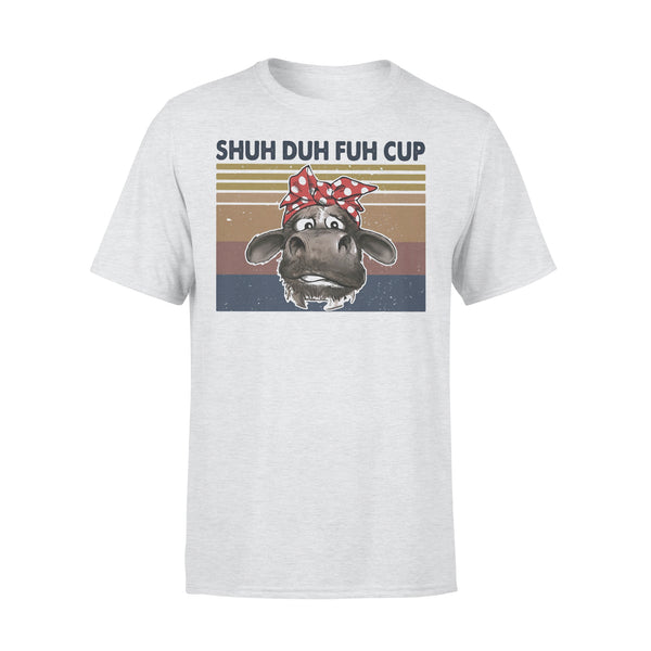 Shuh Duh Fuh Cup Cow Vintage Retro T-shirt XL By AllezyShirt