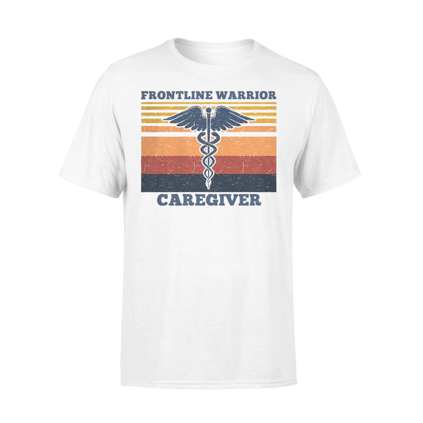 Frontline Warrior Caregiver Vintage Version T-shirt L By AllezyShirt