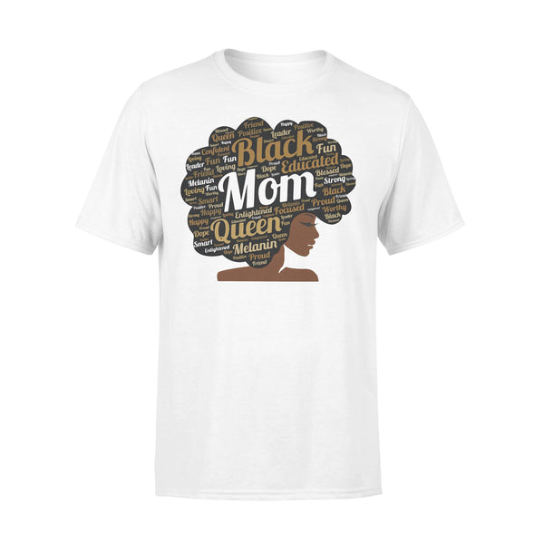 Black Educated Mom Queen Melanin Proud Juneteenth T-shirt L By AllezyShirt