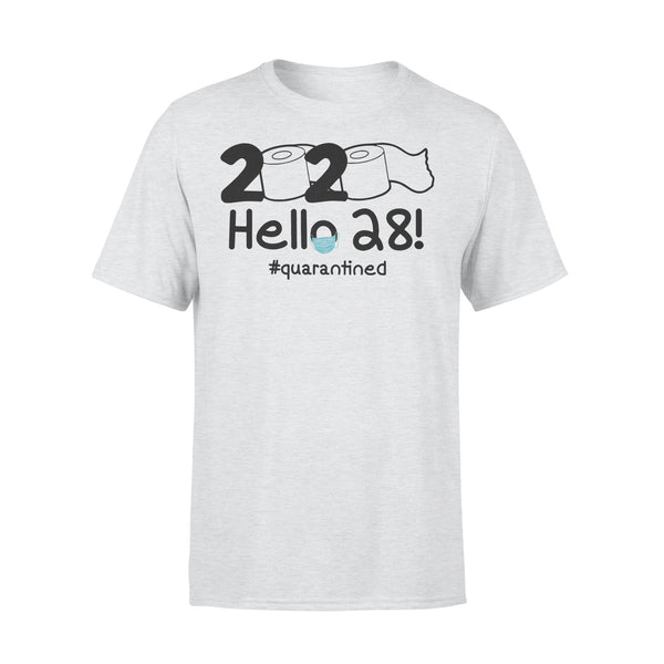 2020 Hello 28 #quarantined Shirt XL By AllezyShirt