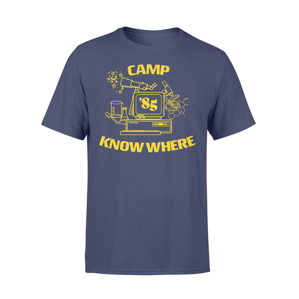 Camp Know Where '85 T-shirt XL By AllezyShirt