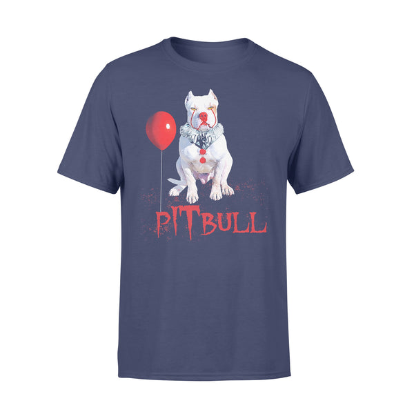 Pitbull Horror Balloon Halloween T-shirt XL By AllezyShirt