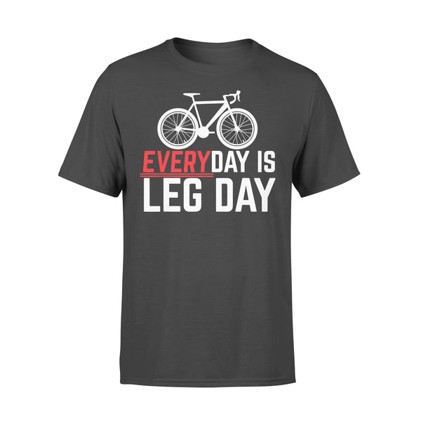 Cycling Everyday Is Leg Day T-shirt L By AllezyShirt