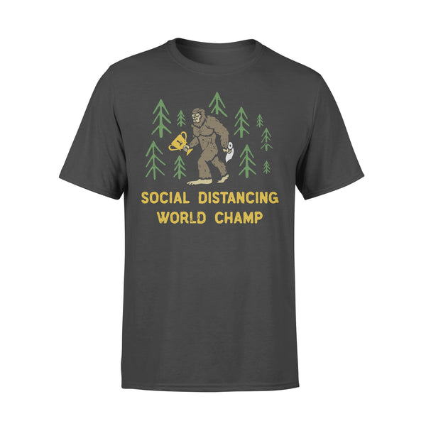 King Kong Social Distancing World Champ T-shirt L By AllezyShirt