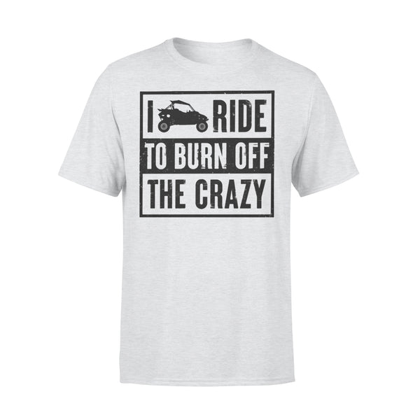 I Ride To Burn Off The Crazy T-shirt XL By AllezyShirt