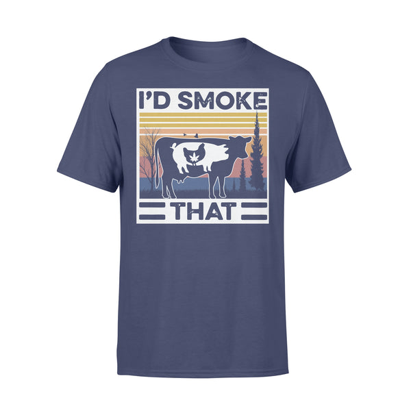 I'd Smoke That Vintage Shirt XL By AllezyShirt