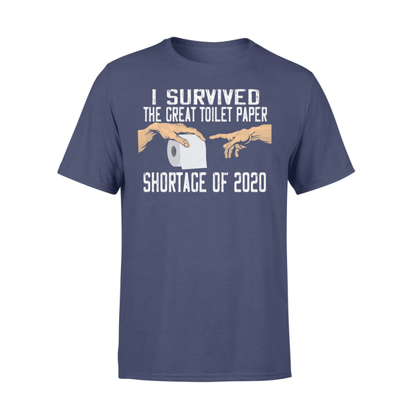 I Survived The Great Toilet Paper Shortage Of 2020 Shirt XL By AllezyShirt