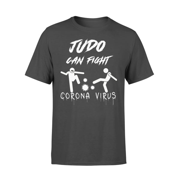 Judo Can Fight Corona Virus T-shirt L By AllezyShirt