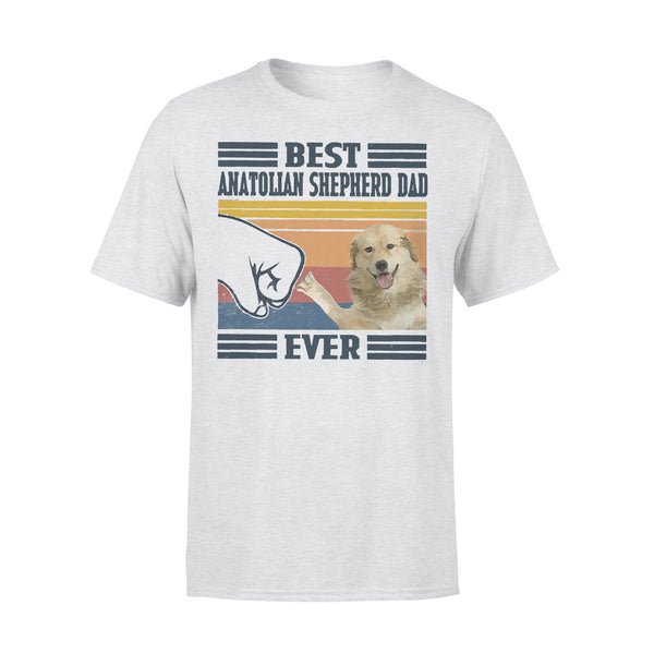 Father's Day Best Anatolian Shepherd Dog Dad Ever T-shirt XL By AllezyShirt