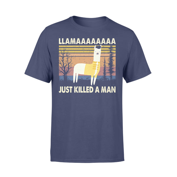 Llama Just Killed A Manssss T-shirt XL By AllezyShirt