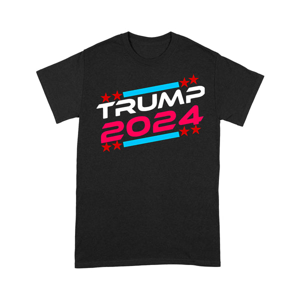 Donald Trump 2024 3 T-shirt S By AllezyShirt