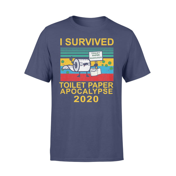 I Survived The Toilet Paper Apocalypse Of 2020 Shirt XL By AllezyShirt