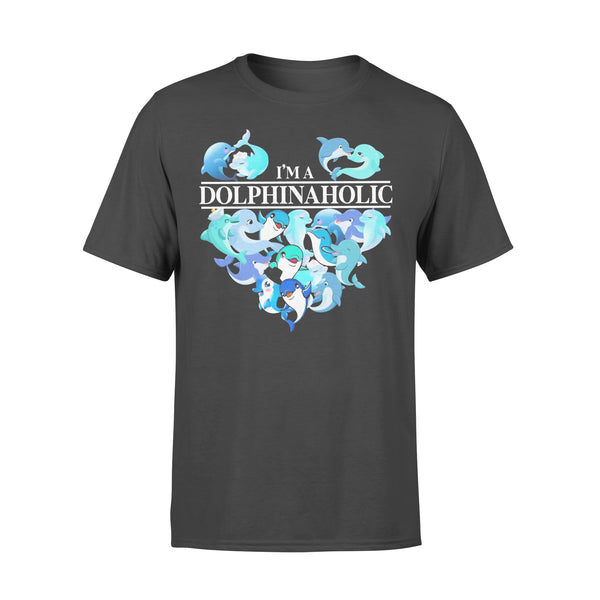 Heart I'm Dolphinsaholic T-shirt L By AllezyShirt