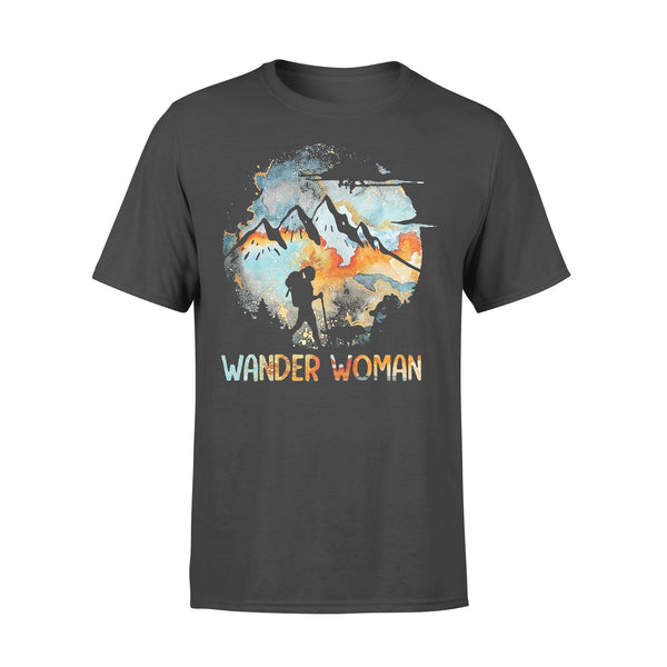 Wander Woman Mountain Camping Girl 2020 Shirt L By AllezyShirt