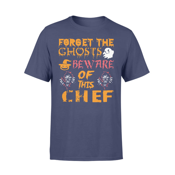 Forget Ghosts Beware This Chef Halloween T-shirt XL By AllezyShirt