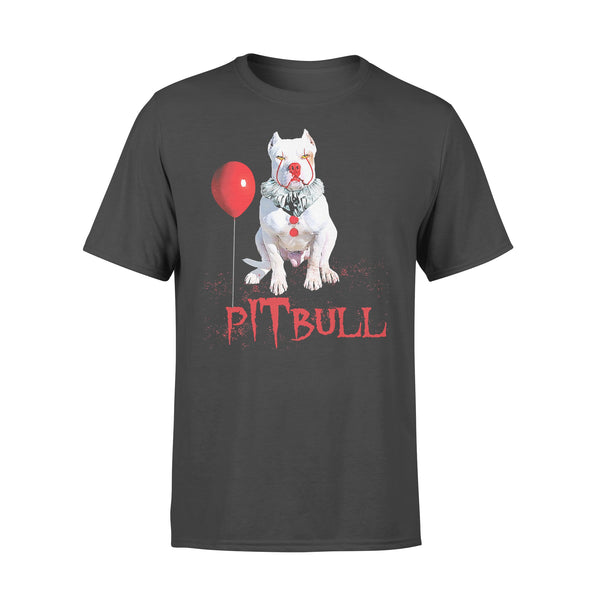 Pitbull Horror Balloon Halloween T-shirt L By AllezyShirt