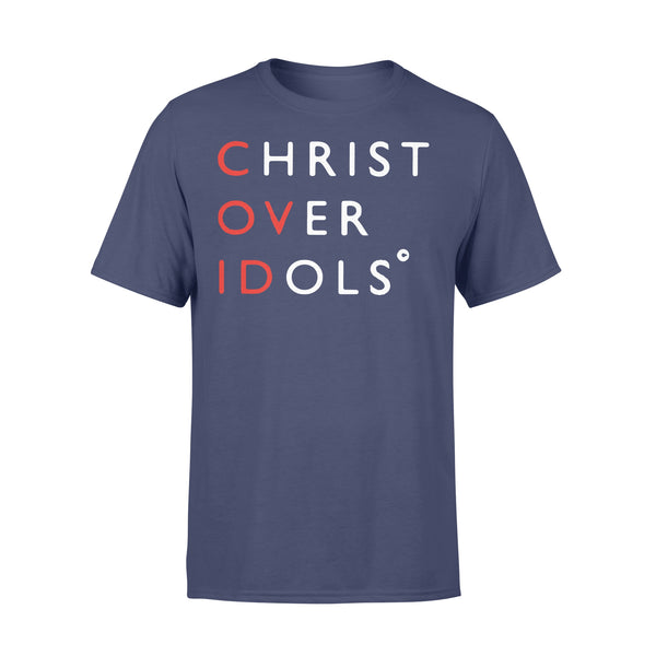 Christ Over Idols Covid-19 Shirt XL By AllezyShirt