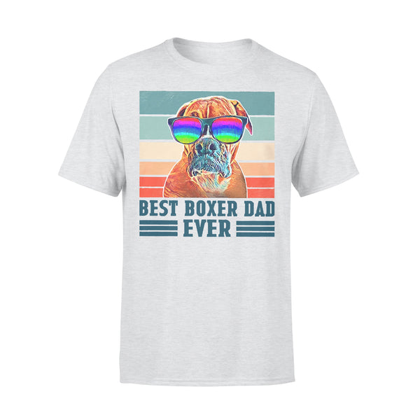 Father's Day Best Boxer Dad Ever T-shirt XL By AllezyShirt