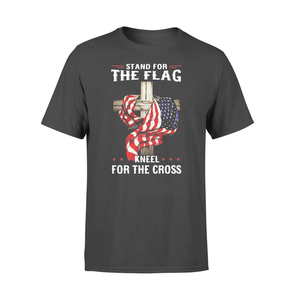 Stand For The Flag Kneel For The Cross T-shirt L By AllezyShirt