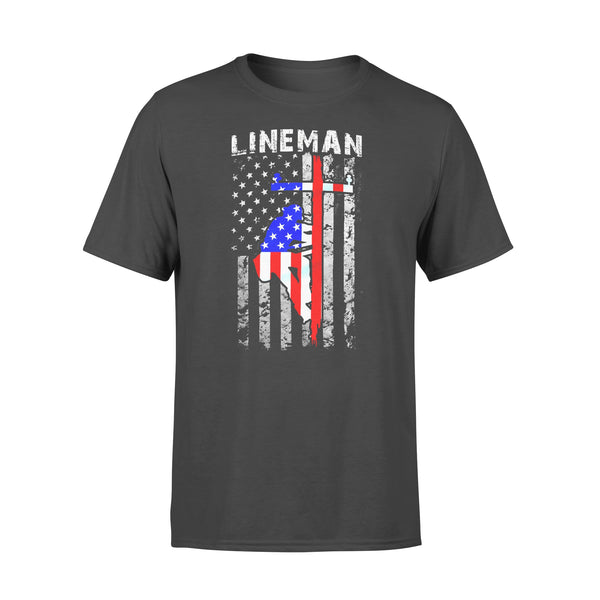 Lineman T-shirt L By AllezyShirt