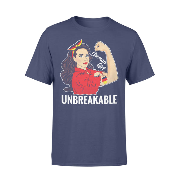 German Girl Unbreakable T-shirt XL By AllezyShirt