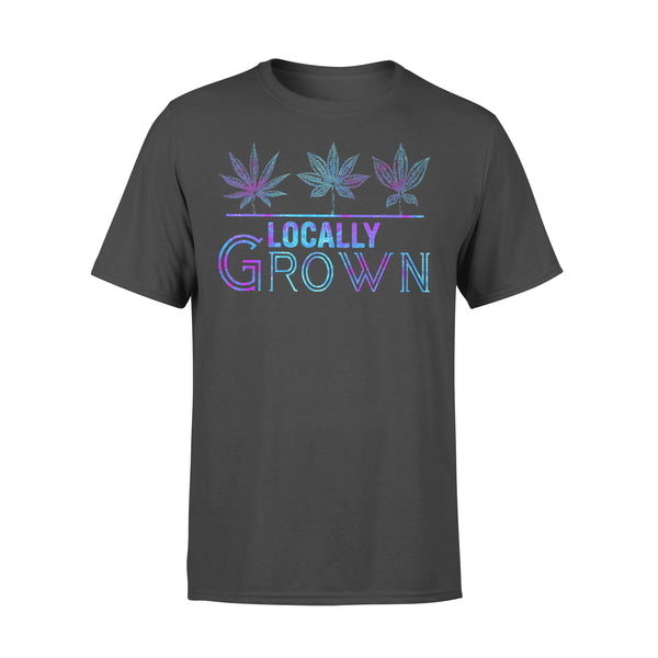 Locally Grown Weed Colorful T-shirt L By AllezyShirt