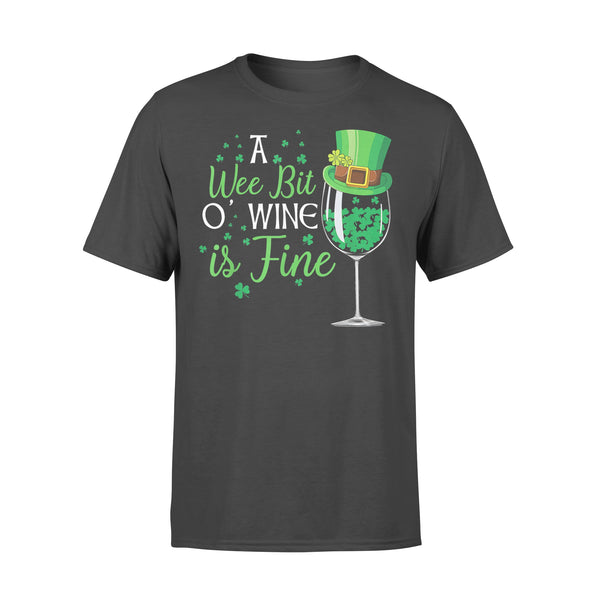 A Wee Bit O' Wine Funny St Shirt L By AllezyShirt