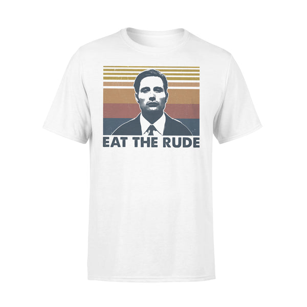 Eat The Rude Vintage Retro T-shirt L By AllezyShirt