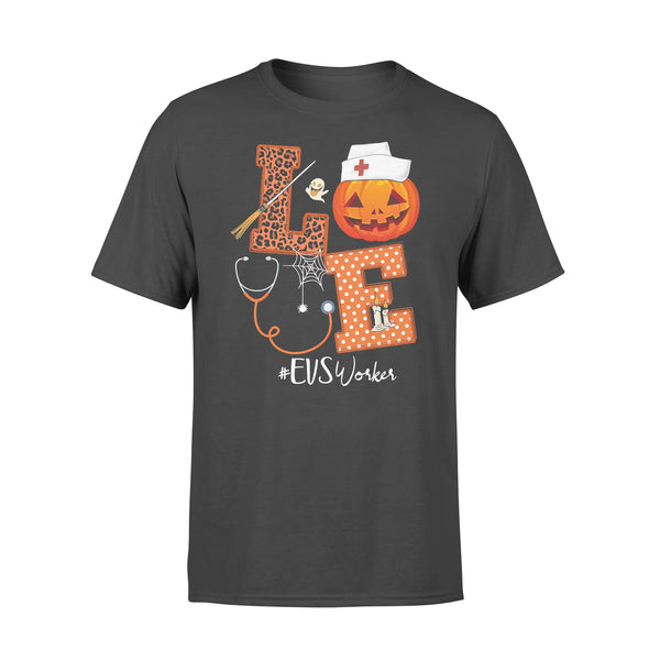 Halloween Pumpkin Love Evs Workers T-shirt L By AllezyShirt