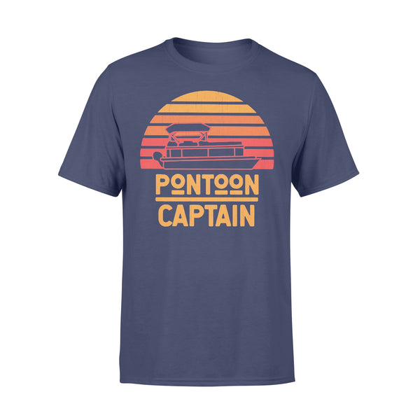 Pontoon Captain Vintage Retro T-shirt XL By AllezyShirt