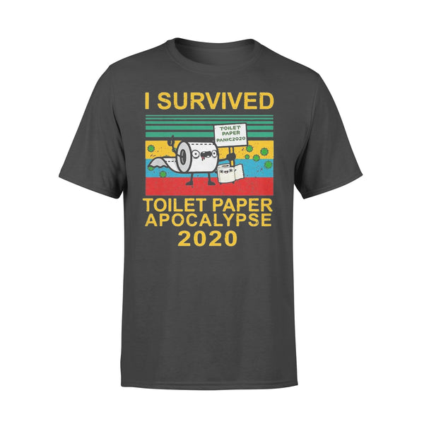 I Survived The Toilet Paper Apocalypse Of 2020 Shirt L By AllezyShirt