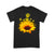 Dog Paw Sunflower T-shirt