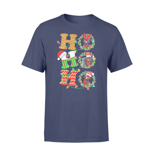 Chicken Hohoho Christmas T-shirt XL By AllezyShirt