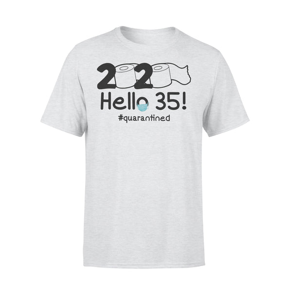 2020 Hello 35 #quarantined Shirt XL By AllezyShirt