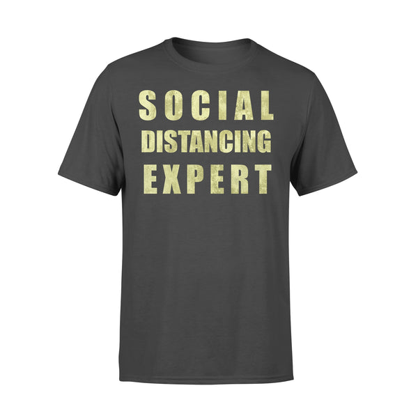 Social Distancing Expert T-shirt L By AllezyShirt