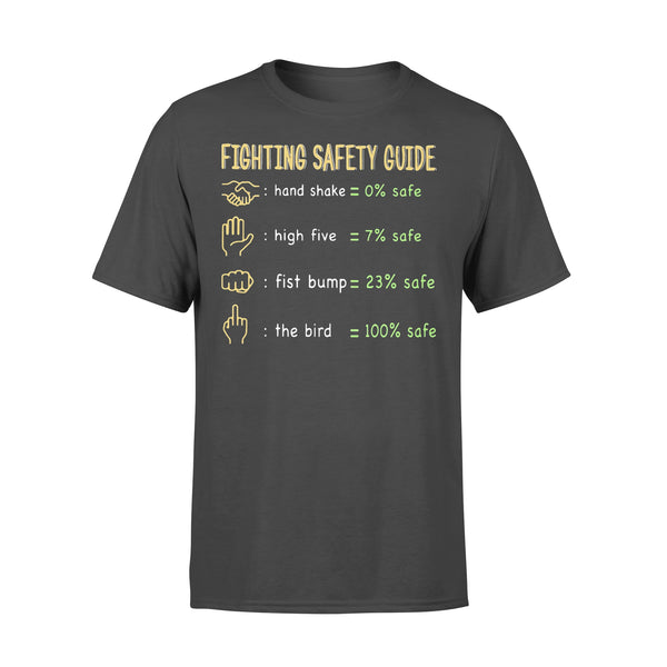 Fighting Safety Guide Covid-19 Shirt L By AllezyShirt