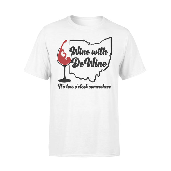 Wine With Dewine It's Two Somewhere Shirt L By AllezyShirt