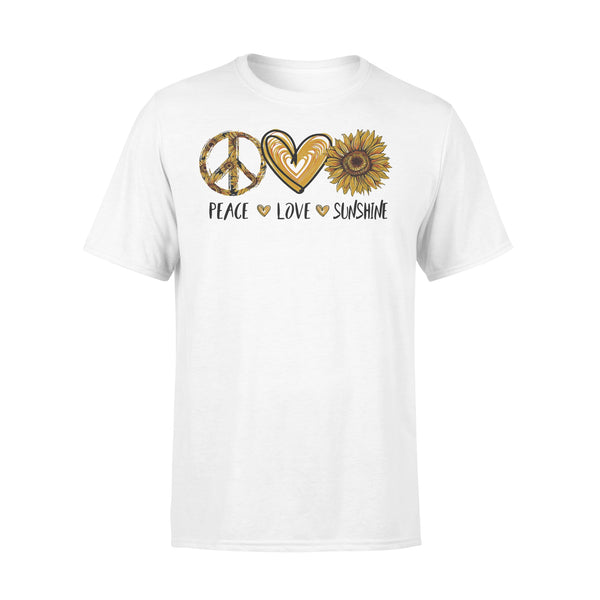 Peace Love Sunshine Sunflower Shirt L By AllezyShirt