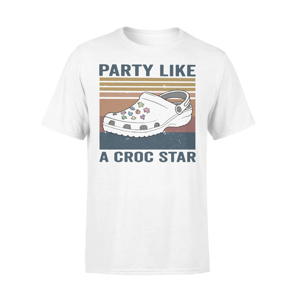 Party Like A Croc Star Vintage T-shirt L By AllezyShirt