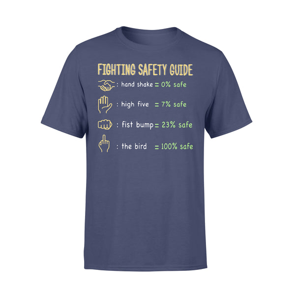 Fighting Safety Guide Covid-19 Shirt XL By AllezyShirt