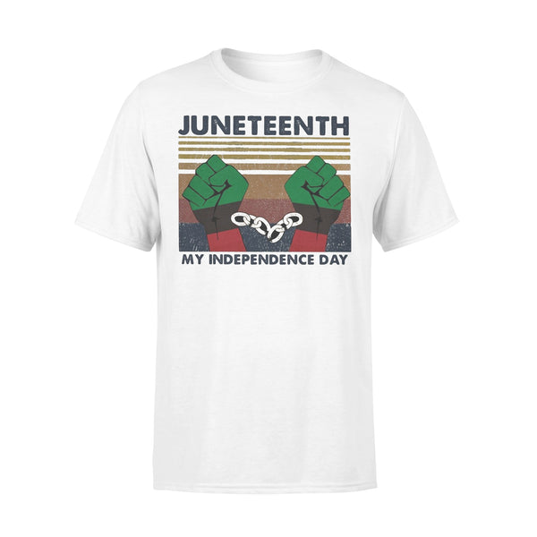 Juneteenth My Independence Day Vintage T-shirt L By AllezyShirt