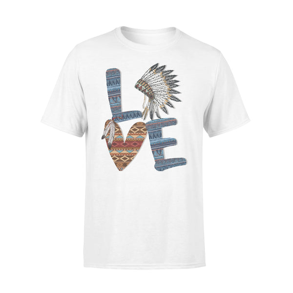 Love Native American Style T-shirt L By AllezyShirt