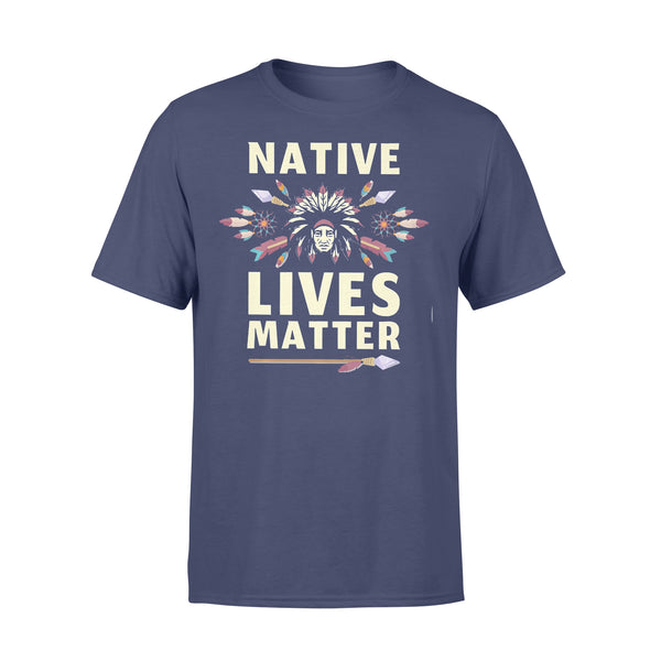 Native Lives Matter Chief T-shirt XL By AllezyShirt