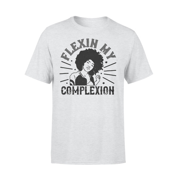 Flexin My Complexion Meaning Black Women T-shirt XL By AllezyShirt