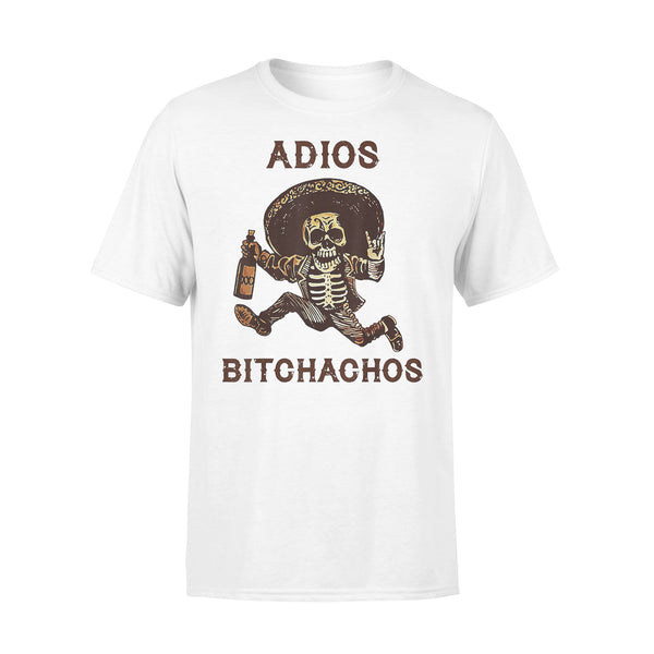 Adios Bitchachos Cinco De Mayo Skeleton Drinking Shirt L By AllezyShirt